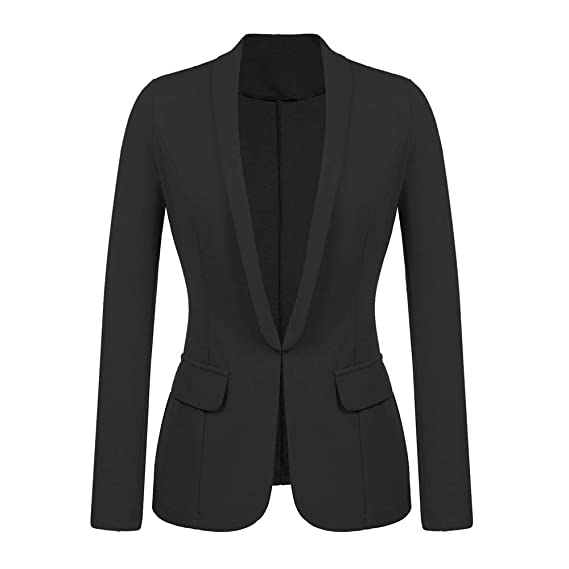 Neue Mode Dame Büro Blazer Solide Anzug Blazer Mantel Outwear Frühling Herbst Frauen Casual Lose Blazer Mantel Größe 34-40 Blazer Frauen Kleidung & Zubehör