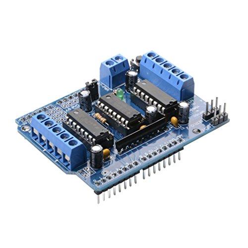 Qunqi L293D Motor Drive Shield for Arduino Duemilanove Mega UNO R3 AVR ATMEL