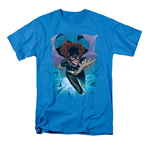 Ptshirt.com-19015-DC Comics New 52 - Batgirl Men\'s T-Shirt-B00695X7XW-T Shirt Design