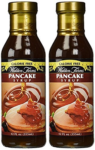 Walden Farms Pancake Syrup, 12 Fl Oz (Pack of 2) (Best Tasting Pancake Syrup)