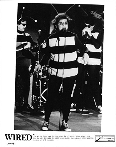 Vintage photo of The Killer Bees are introduced on TV39;s