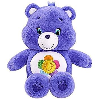 Amazoncom Nanco 2003 Care Bears Share Bear Plush Teddy Purple w