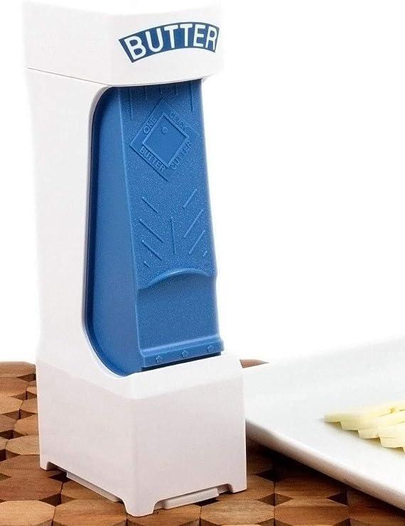 Original YELLOW One-Click Butter Cutter Butter Pat Dispenser Slice /& Stores