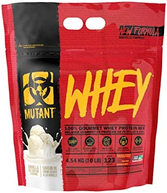 Mutant Whey - Vanilla - 4540g, 1er Pack (1 x 4.54 kg)