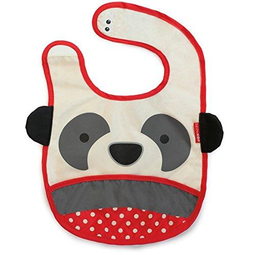 Skip Hop Zoo Tuck Away Bib, Pia Panda 232119