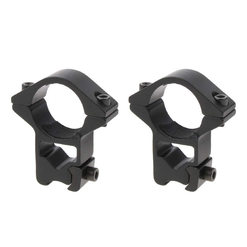 F Fityle High-Profile-Ring 11mm Schwalbenschwanz-Schienenmontage 24, 5 mm Ring-Umfang-Halterung