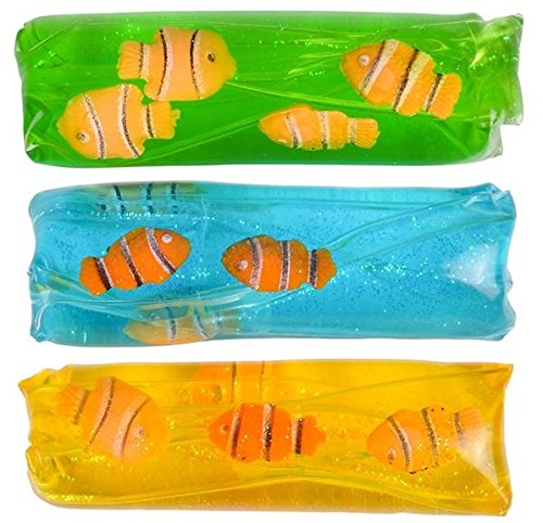 Clown Fish Water Wiggler 6 Pack -