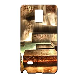 samsung note 4 covers Snap-on Hd cell phone covers beautiful fountains