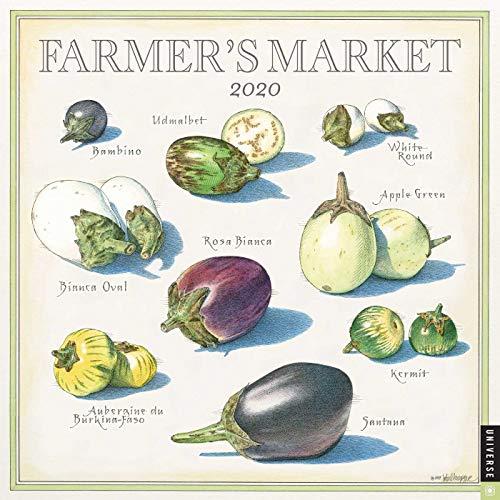 Farmer's Market 2020 Wall Calendar (Calendar Food)