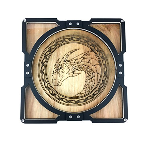 Dice Tray Party Tray! Dragon by C4Labs Great for Group Gamers by Dice Tray