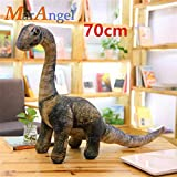 Stuffed doll 5 Styles Simulation Dinosaur Plush Toys Soft Cartoon Pillows Lifelike Tyrannosaurus for Boys Kids Birthday Gift Small Seismosaurus
