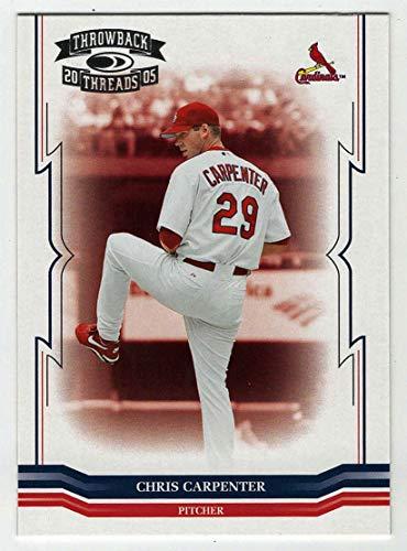Chris Carpenter (Baseball Card) 2005 Donruss Throwback Threads # 219 NM/MT