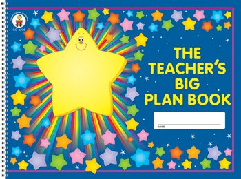 5 Pack CARSON DELLOSA THE TEACHERS BIG PLAN (Teachers Big Plan Book)