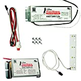 Fulham FHSKITT04LNC - LED Emergency Backup - 4W 500 Lumens 145 min. Operation - LED Array Module - C-Cell Battery Pack - 120/277V