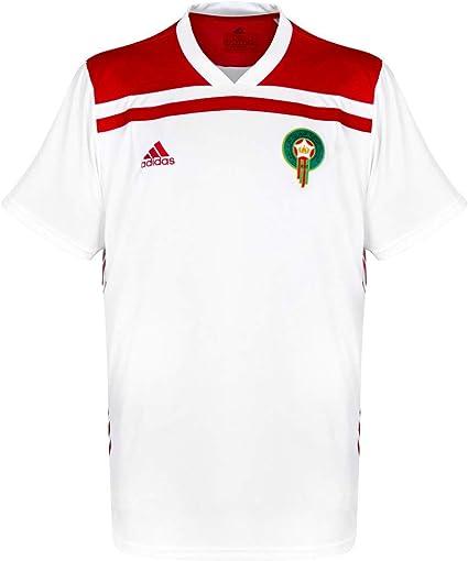 adidas Selección Marruecos Segunda Equipación 2019-2020, Camiseta, White-Power Red, Talla XL: Amazon.es: Deportes y aire libre