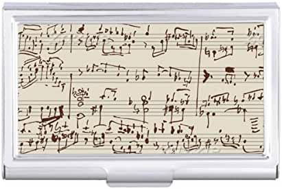 Music notes Card Holder