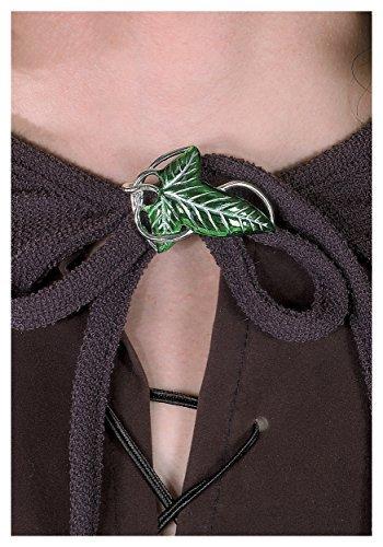 [Elven Cloak Leaf Clasp Costume Accessory] (Frodo Costume Mens)