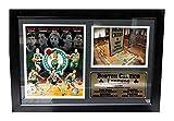 Encore Select 127-02 NBA Boston Celtics Framed Legends Larry Bird Print, 12-Inch by 18-Inch