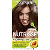 hair dye ash - Garnier Nutrisse Nourishing Hair Color Creme, 51 Medium Ash Brown (Cool Tea)  (Packaging May Vary)