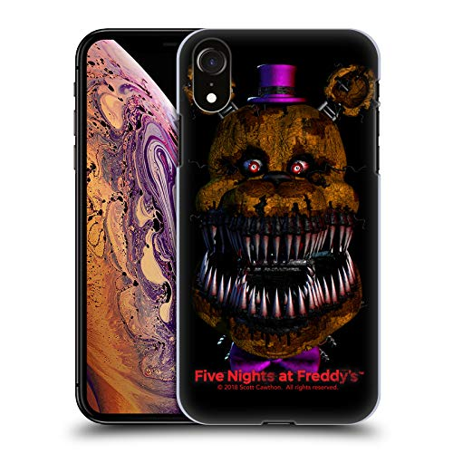 Official Five Nights at Freddy's Nightmare Fredbear Game 4 Hard Back Case  Compatible for iPhone XR