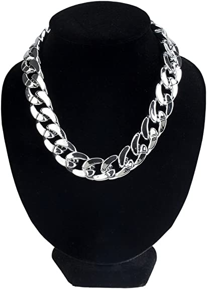 gros collier femme ras de cou