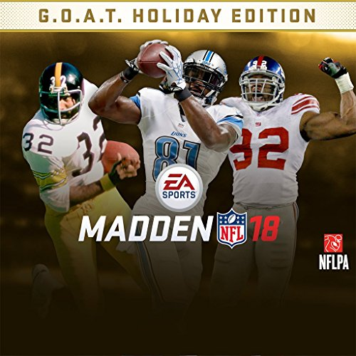 Madden NFL 18 - Holiday Edition - PS4 [Digital Code] by Electronic Arts