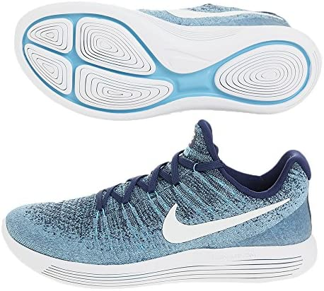 Nike Lunarepic Low Flyknit 2 Chaussures de Running pour Hommes (Bleu)
