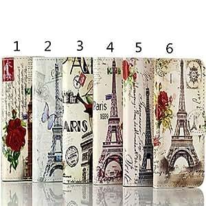 SJT Retro Paris Eiffel Tower Design PU Protective Case for iPhone 5/5S (Assorted Color) , 2