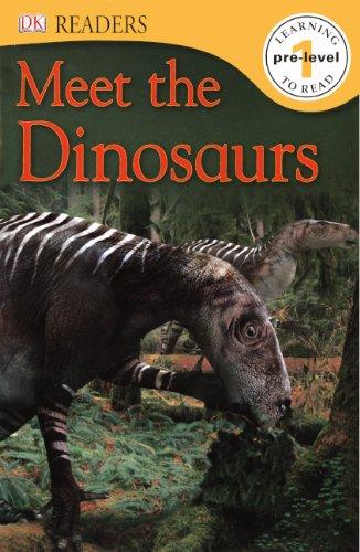 Download Meet The Dinosaurs (Turtleback School & Library Binding Edition) (Dk Readers. Pre-level 1) pdf