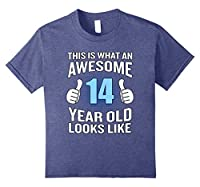 Awesome 14th Year Old Birthday T-Shirt Funny Boy Girl Gift