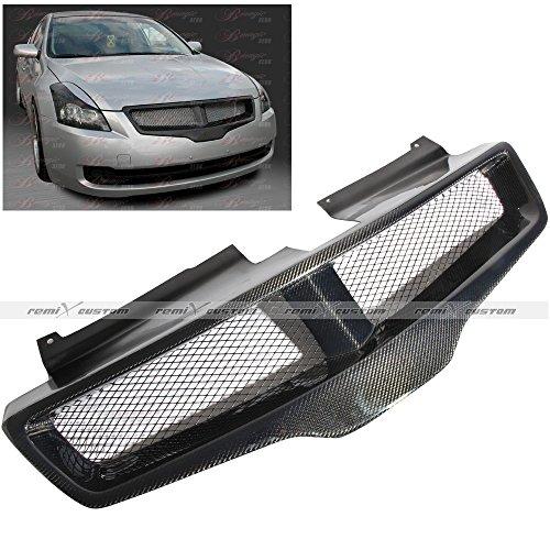 2007 - 2011 Nissan Altima 4 Door Sedan Carbon Fiber Front Hood Mesh (Nissan Altima Carbon Fiber Hood)