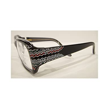 1940b9fd0b22 Image Unavailable. Image not available for. Color  Caviar 6170 Eyeglasses  Frames Black (C24) Crystal Stones New
