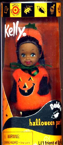 Barbie - KELLY Club Halloween Costume Party Diedre as Pumpkin, Kelly Li'l Friends Doll ()
