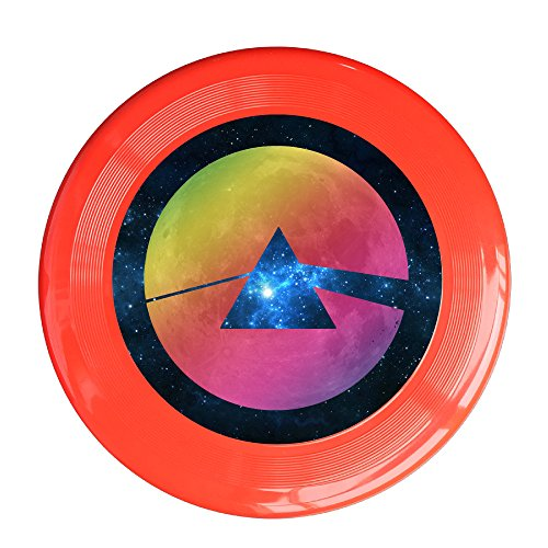 YQUE56 Unisex Pop Muisc Outdoor Game Frisbee Light Up Flying Red