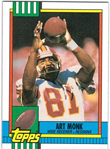 1990 Topps with Traded Washington Redskins Team Set with Art Monk & Darrell Green - 23 Cards Art Monk Washington Redskins