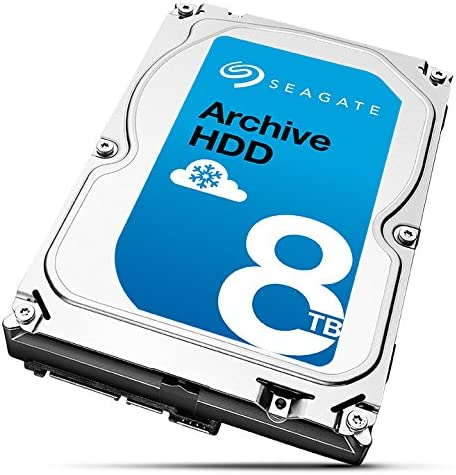 Seagate Archive HDD v2 8TB SATA 6Gb//s 128MB Cache Internal Bare Drive with SMR Technology 3.5 ST8000AS0022