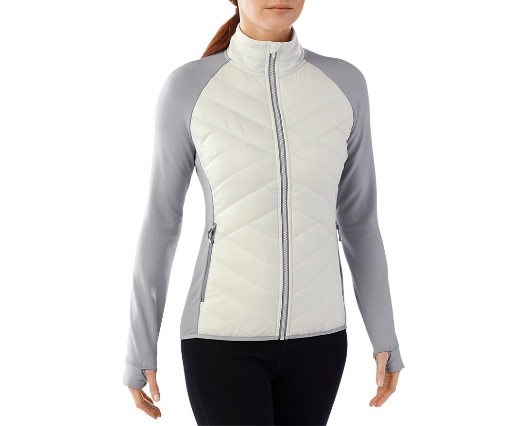 Smartwool Women's Corbet 120 Jacket (Dogwood White) Small by SmartWool