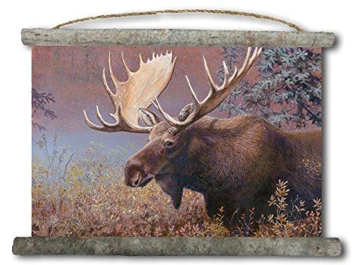 WGI-GALLERY WC-CM-2518 Chocolate Moose Canvas Wall Scroll