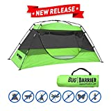 EasyGo Products Bug Barrier Mosquito Bug Tent Pop Up Mosquito Net Canopy