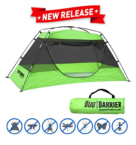 EasyGO Products Bug Barrier Mosquito Bug Tent with Pop Up Mosquito Net Canopy