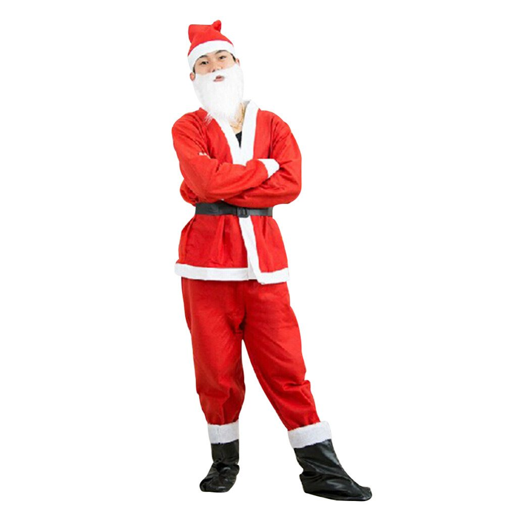 Buy Santa Claus Dress For 10 14 Year Old Kids For Christmas By Mobison Online At Low Prices In India Amazon In