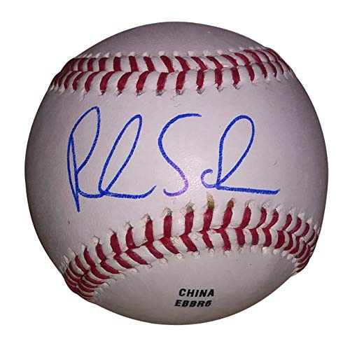 (Philadelphia Phillies Rick Schu Autographed Hand Signed Baseball with Proof Photo of Signing and COA, Baltimore Orioles, Montreal Expos, Detroit Tigers, Los Angeles Angels,Nippon Ham Fighters)