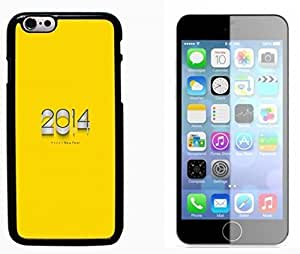 2014 New year Hard Plastic and Aluminum Back Case FOR Apple iphone 5 5s 6G