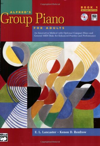 Alfred's Group Piano for Adults, Book 1 (Adult Piano Course) by Alfred Publishing