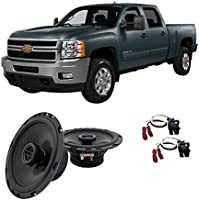 Fits Chevy Silverado Pickup 1999-2007 Rear Door Factory Replacement HA-R65 Speakers