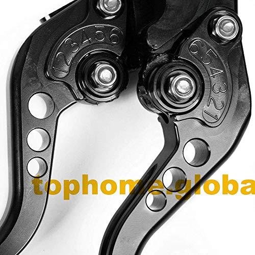 (Agatha Stores - For Honda VTR250 / Interceptor 250 / MC33 1998-2006 Short Clutch Brake Levers CNC Lever 1999 2000 2001 2002 2003 2004 2005)