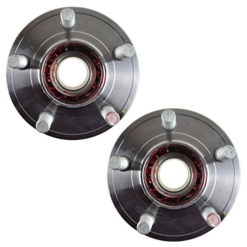 TRQ Front Wheel Hub & Bearing Pair for Challenger Charger Magnum 300C RWD 2WD by TRQ (Image #1)