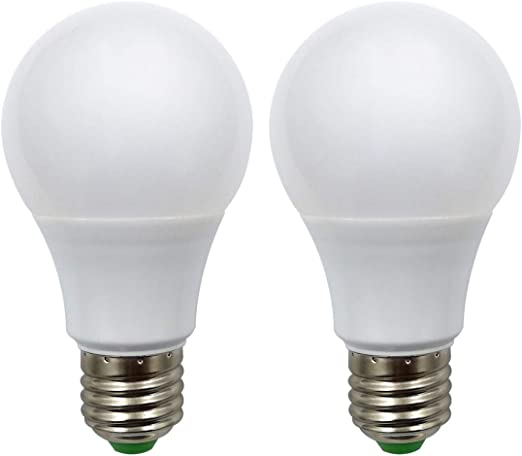 50W E27 A19 Edison Screw LED Light Bulb E26//E27 Base Light Bulb 350LM 5W Great for Off Grid Solar System Lighting Marine Boat RV Interior Lighting Camper Warm White 3000K- Pack of 6 ZhenMingPhotoelectric 12V