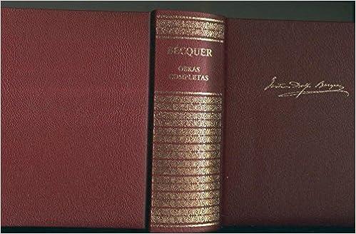 Obras completas de Gustavo Adolfo Becquer: Amazon.es: Gustavo ...