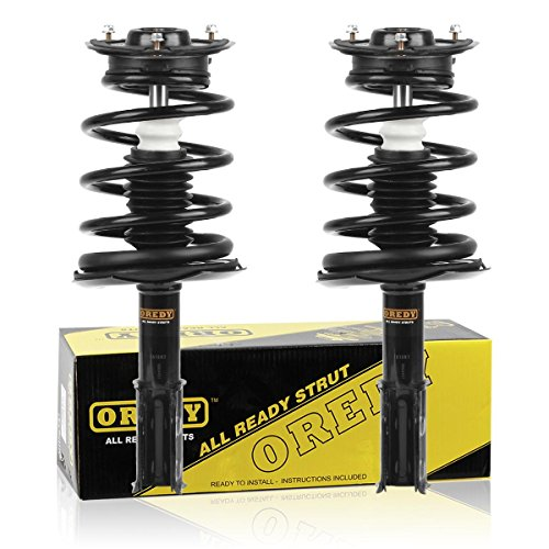 OREDY Front Pair Complete Struts Assembly Shock Coil Spring Assembly Kit 171822 11040 SR4022 Compatible with Buick Lesabre/Pontiac Bonneville/Oldsmobile 88 1992 1993 1994 1995 1996 1997 1998 1999